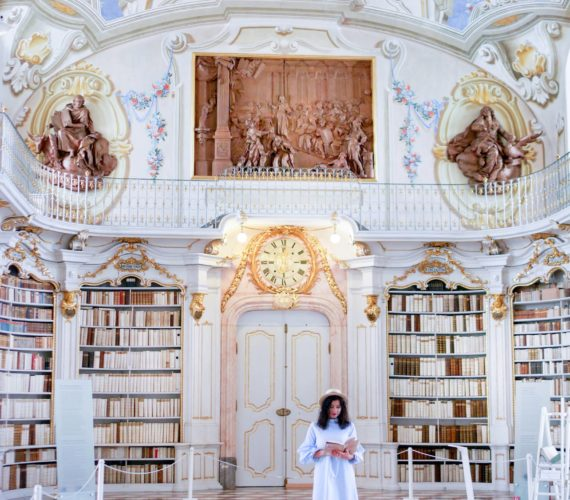 Admont Abbey beautiful library
