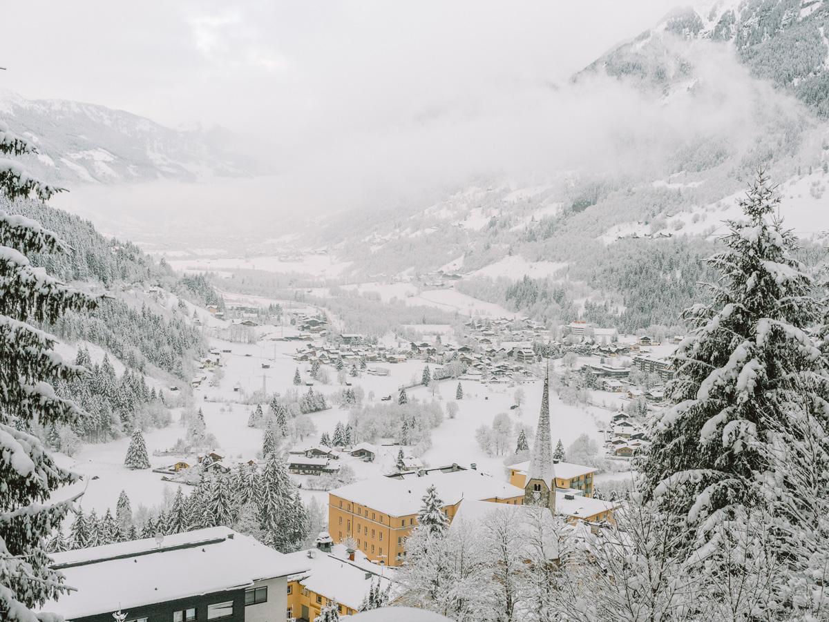 Miramonte Hotel room view, Bad Gastein