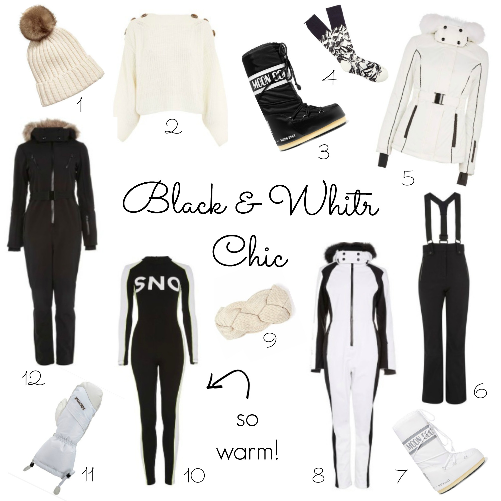 skiing outfit ideas