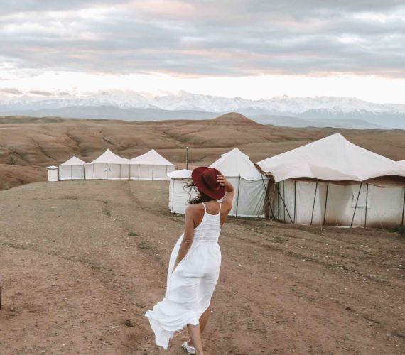 Glamping Scarabeo Desert Camp