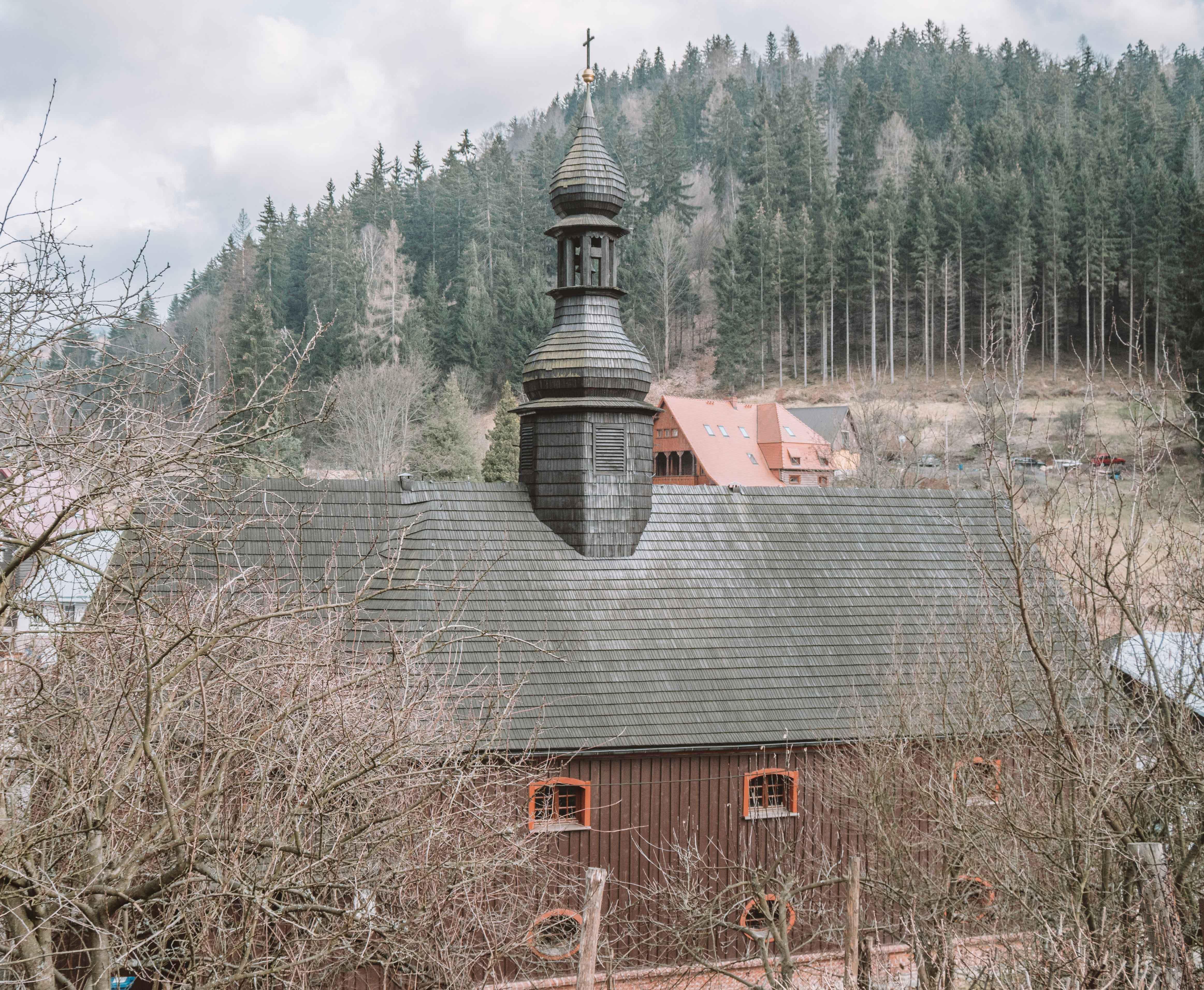 Polish Mountains Sudety Międzygórze