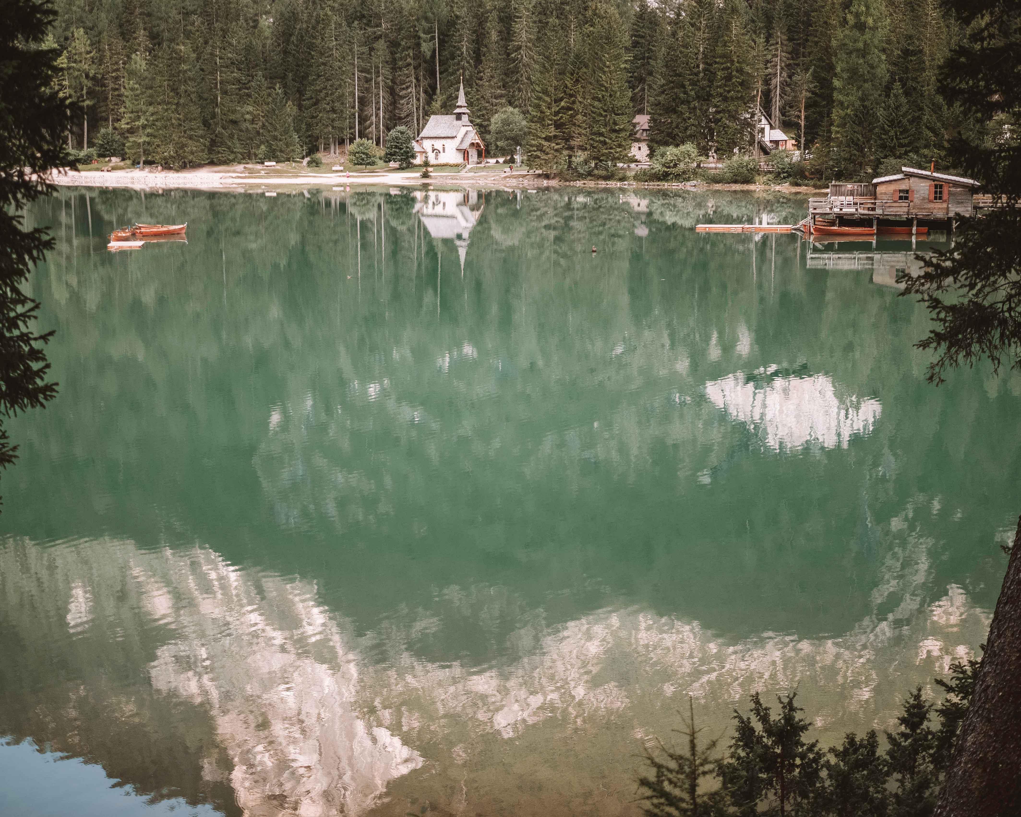 Lago Di Braies-Pragser Wildsee-Dolomites