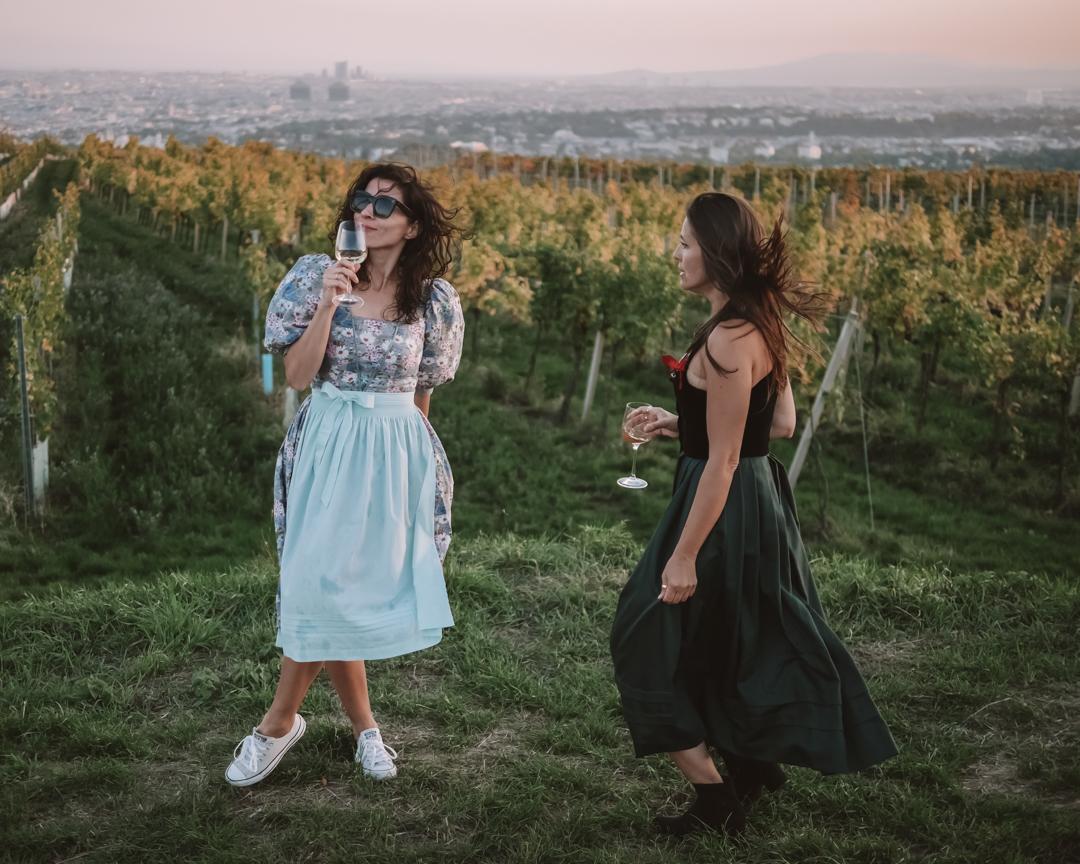 Vienna wine hiking days - Wiener Weinwandertag