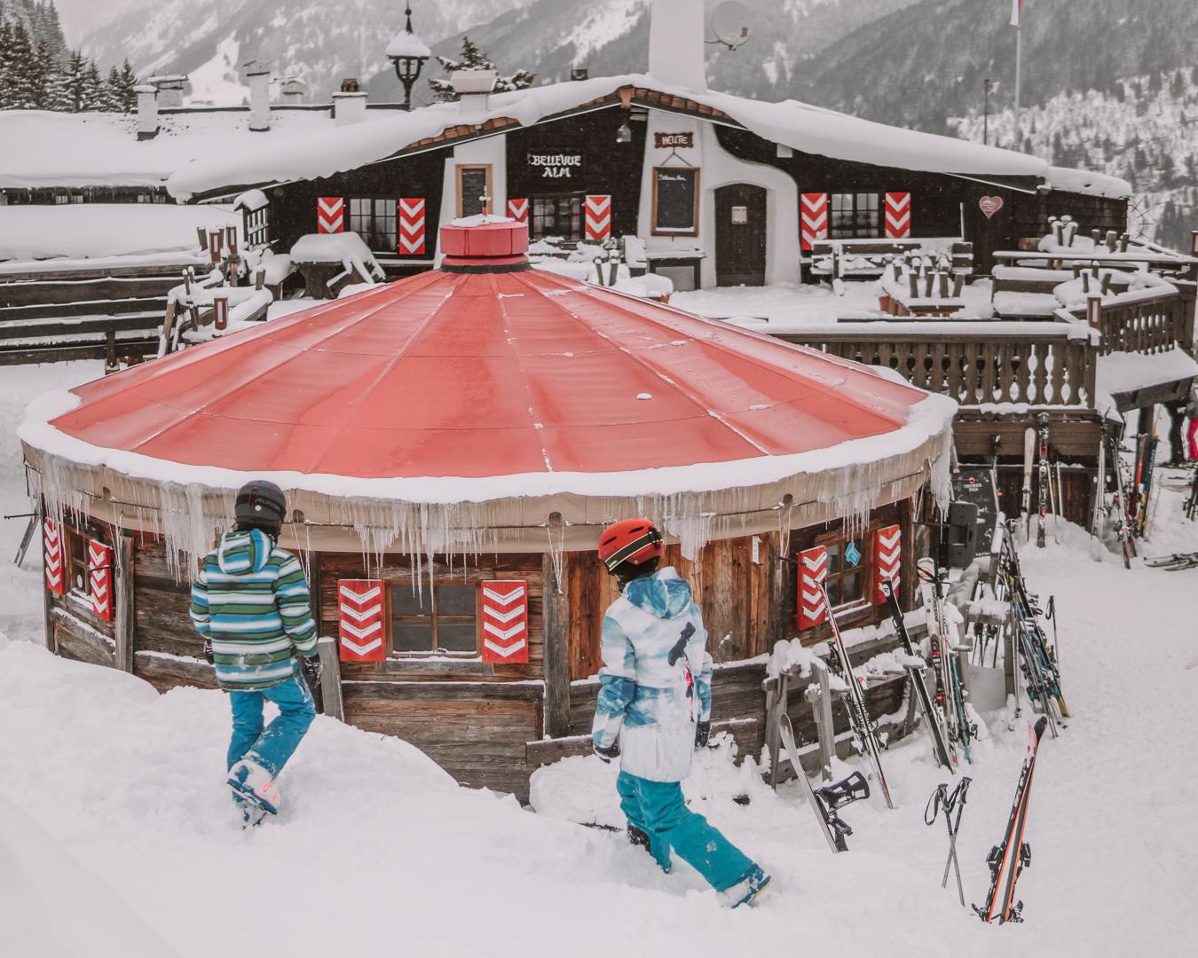 Schiefe Alm-Mountain Chalet-Bad Gastein-Skiing Austria