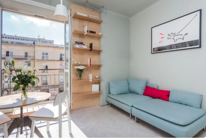 4 Airbnb apartments in Warsaw with beautiful view