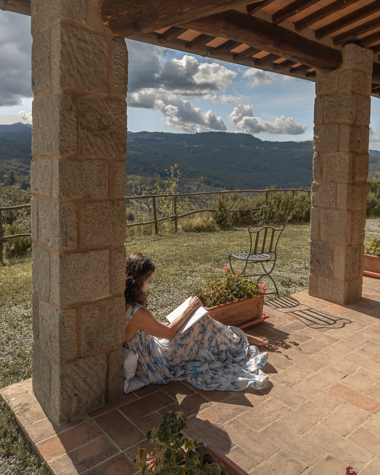tuscany-summer house-Betty On The Go